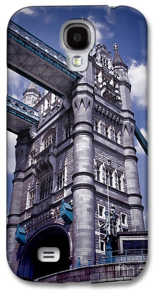 Kate Middleton Galaxy S4 Cases - Tower Bridge London Galaxy S4 Case by Mariola Bitner