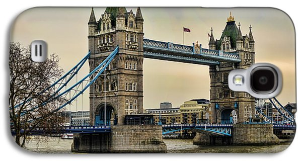 Tower Bridge On The River Thames Galaxy S4 Case by Heather Applegate