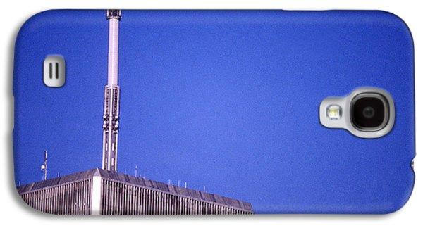 Manhatten Galaxy S4 Cases - Tower One Galaxy S4 Case by Jon Neidert