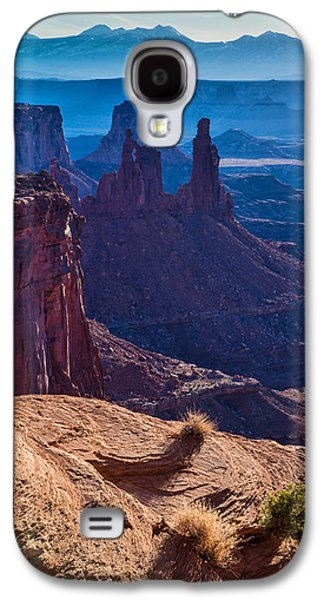 Monster Galaxy S4 Cases - Tower Sunrise Galaxy S4 Case by Chad Dutson