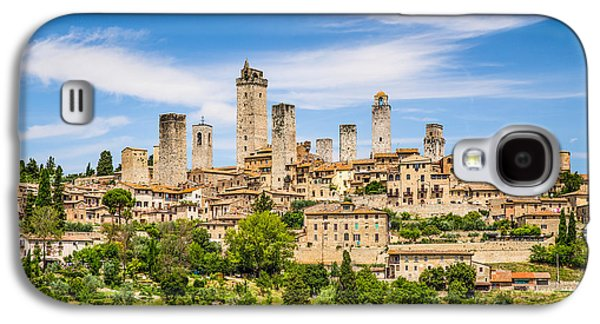 Recently Sold -  - Fantasy Photographs Galaxy S4 Cases - Towers of San Gimignano Galaxy S4 Case by JR Photography