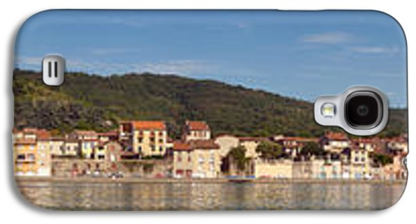 Rhone Alpes Galaxy S4 Cases - Town At The Waterfront, Rhone River Galaxy S4 Case by Panoramic Images