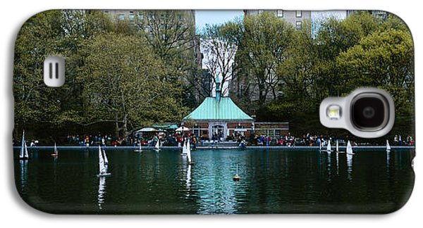 Boats On Water Galaxy S4 Cases - Toy Boats Floating On Water, Central Galaxy S4 Case by Panoramic Images