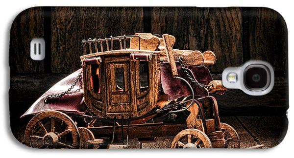 Artisan Galaxy S4 Cases - Toy Stagecoach Galaxy S4 Case by Olivier Le Queinec