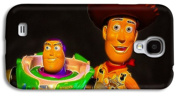 Recently Sold -  - Fantasy Photographs Galaxy S4 Cases - Toy Story - Buzz Lightyear and Woody Galaxy S4 Case by Lee Dos Santos