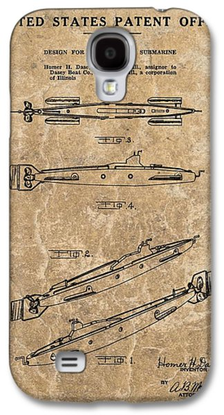 Toy Boat Galaxy S4 Cases - Toy Submarine Patent Galaxy S4 Case by Dan Sproul
