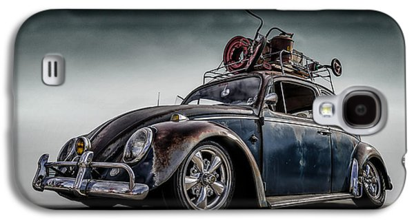 Vw Beetle Galaxy S4 Cases - Toyland Express Galaxy S4 Case by Douglas Pittman