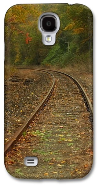 Connecticut Landscape Galaxy S4 Cases - Tracking thru the Woods Galaxy S4 Case by Karol  Livote