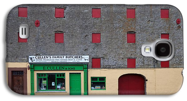 Traditional Butchers , Leighlinbridge Galaxy S4 Case by Panoramic Images