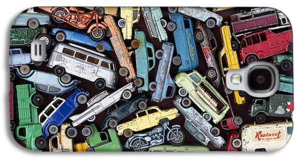 Truck Photographs Galaxy S4 Cases - Traffic Jam Galaxy S4 Case by Tim Gainey