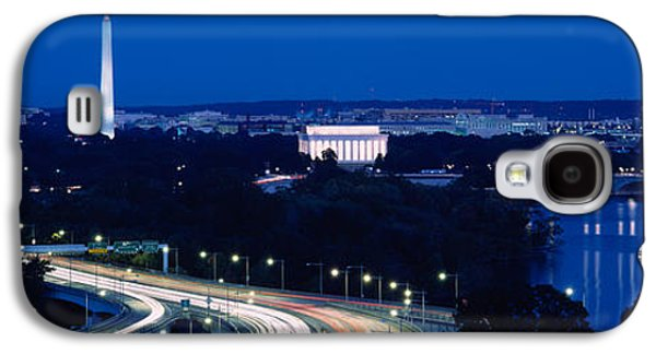 Traffic On The Road, Washington Galaxy S4 Case by Panoramic Images