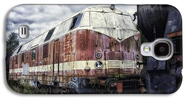 Not In Use Galaxy S4 Cases - Train Memories Galaxy S4 Case by Mountain Dreams