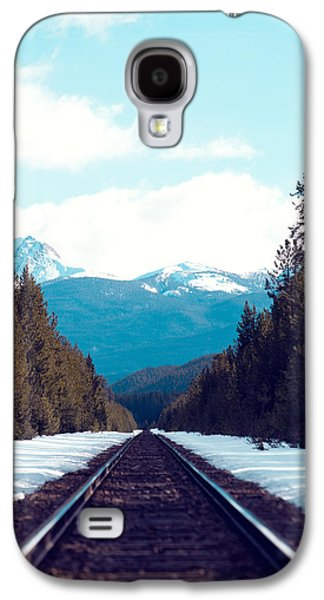 Train To Mountains Galaxy S4 Case by Kim Fearheiley