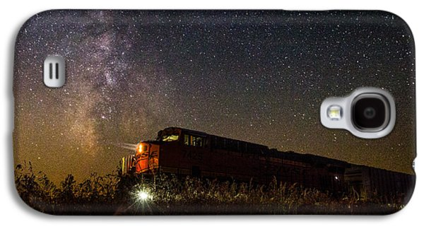 Train To The Cosmos Galaxy S4 Case by Aaron J Groen
