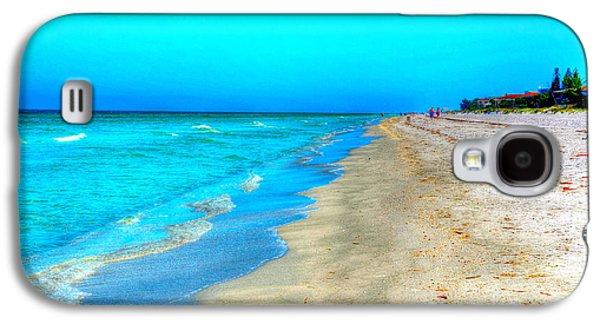 Beach Landscape Galaxy S4 Cases - Tranquil Beach Galaxy S4 Case by Debbi Granruth