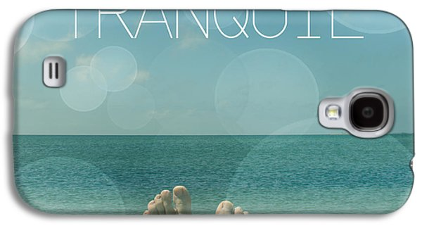 Spiritualism Galaxy S4 Cases - Tranquil  Galaxy S4 Case by Mark Ashkenazi