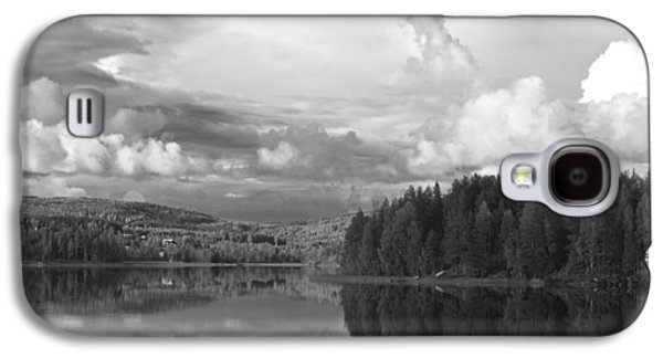 Fantasy Photographs Galaxy S4 Cases - Tranquil summer lake - monochrome Galaxy S4 Case by Intensivelight