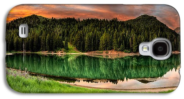 Reservoir Galaxy S4 Cases - Tranquility Galaxy S4 Case by Brett Engle