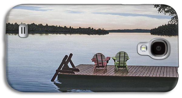 Chair Galaxy S4 Cases - Tranquility Galaxy S4 Case by Kenneth M  Kirsch
