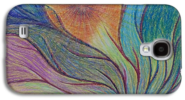 Spiritual Pastels Galaxy S4 Cases - Transformational Opening Galaxy S4 Case by Jamie Rogers