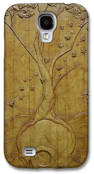 Bas Relief Reliefs Galaxy S4 Cases - Transitions 1 - Winter / Spring Galaxy S4 Case by Jeremiah Welsh
