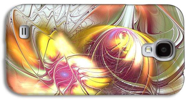 Flowers Galaxy S4 Cases - Transwarp Galaxy S4 Case by Anastasiya Malakhova