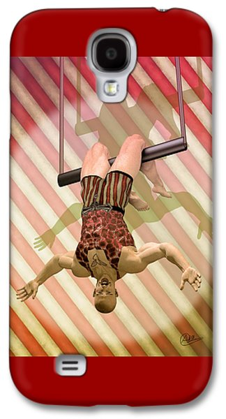 Trapeze Artist  Galaxy S4 Case by Quim Abella