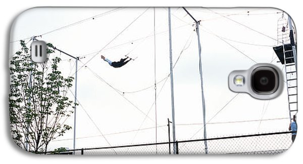 Trapeze School New York, Hudson River Galaxy S4 Case by Panoramic Images