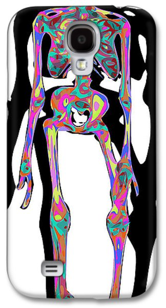 Sweating Digital Galaxy S4 Cases - Trapped Galaxy S4 Case by Chris Butler