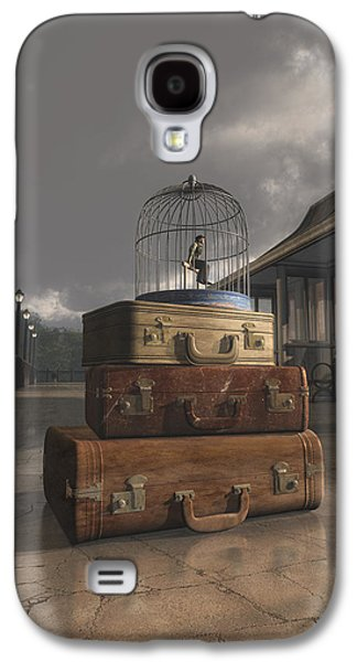 Cage Galaxy S4 Cases - Traveling Galaxy S4 Case by Cynthia Decker