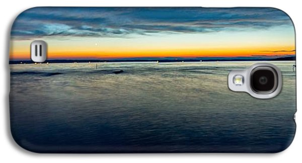 4th July Galaxy S4 Cases - Traverse City Michigan in July Galaxy S4 Case by Theodore Michael