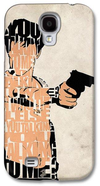 Recently Sold -  - Drawing Galaxy S4 Cases - Travis Bickle - Robert De Niro Galaxy S4 Case by Ayse Deniz