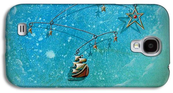 Pirate Ship Galaxy S4 Cases - Treasure Hunter Galaxy S4 Case by Cindy Thornton