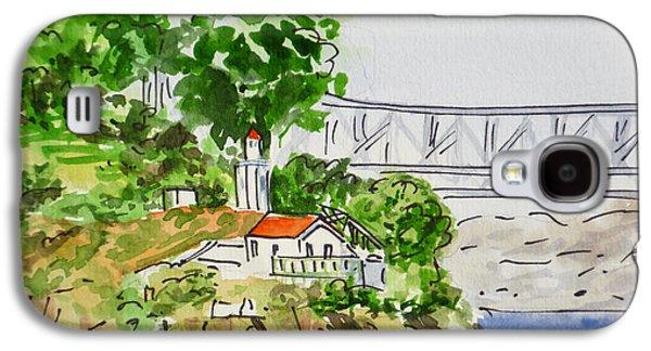 Treasure Island - California Sketchbook Project  Galaxy S4 Case by Irina Sztukowski