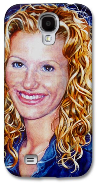 Painter Photo Galaxy S4 Cases - Treasured Daughter Galaxy S4 Case by Hanne Lore Koehler