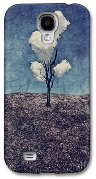 Tree Clouds 01d2 Galaxy S4 Case by Aimelle