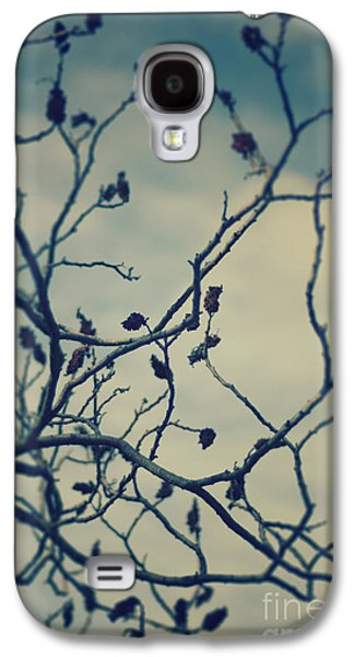 Abstracts Pyrography Galaxy S4 Cases - Tree Galaxy S4 Case by Jelena Jovanovic