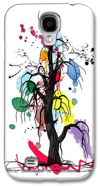 Animation Galaxy S4 Cases - Tree Galaxy S4 Case by Mark Ashkenazi