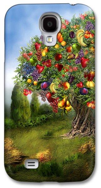 Tree Of Abundance Galaxy S4 Case by Carol Cavalaris