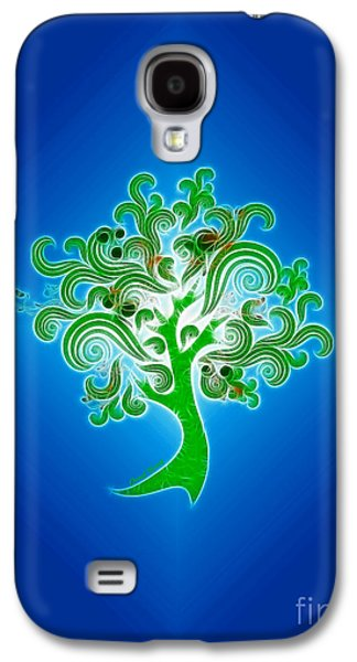 Abstract Digital Photographs Galaxy S4 Cases - Tree of Life Galaxy S4 Case by Cheryl Young