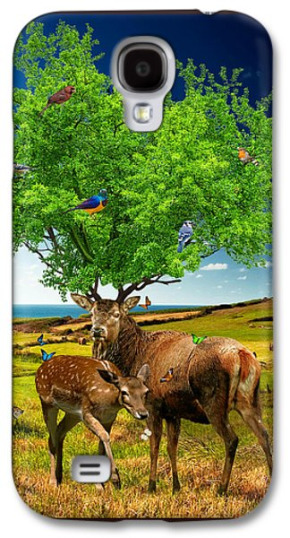 The Trees Mixed Media Galaxy S4 Cases - Tree of Life Galaxy S4 Case by Marian Voicu