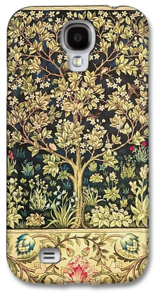 Tree Of Life Galaxy S4 Case by William Morris