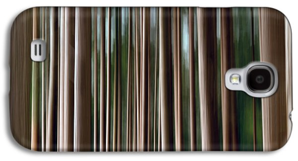 Abstract Digital Photographs Galaxy S4 Cases - Tree Trunks Galaxy S4 Case by Wim Lanclus