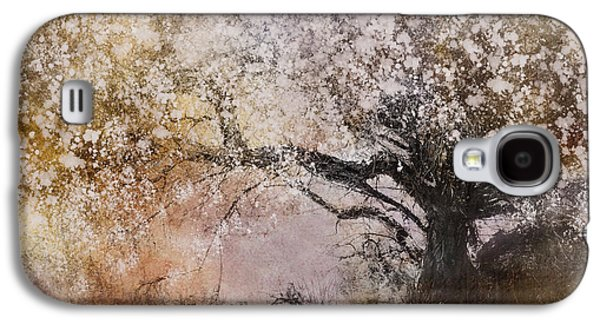 Botanical Digital Art Galaxy S4 Cases - Tree Whispers Galaxy S4 Case by Amy Weiss