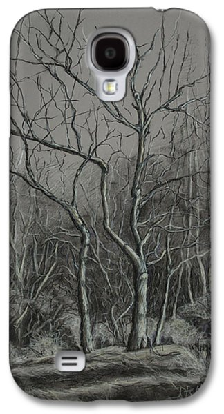 Janet Felts Galaxy S4 Cases - Trees Along the Greenway Galaxy S4 Case by Janet Felts