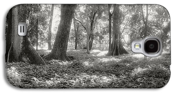 Garden Scene Galaxy S4 Cases - Trees In A Garden, Jardim Botanico Galaxy S4 Case by Panoramic Images