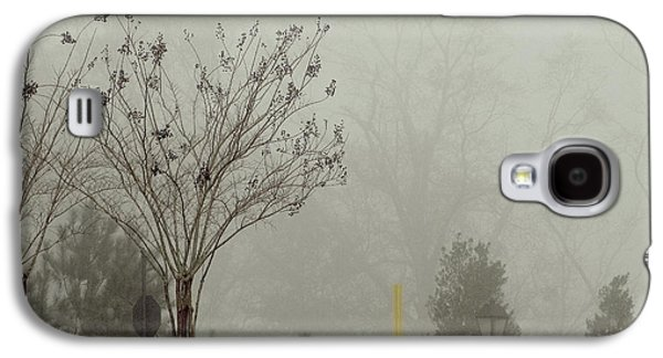 Mystic Setting Galaxy S4 Cases - Trees in foggy morning Galaxy S4 Case by A J