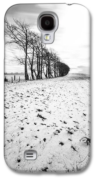 Trees In Snow Galaxy S4 Cases - Trees in snow Scotland ii Galaxy S4 Case by John Farnan