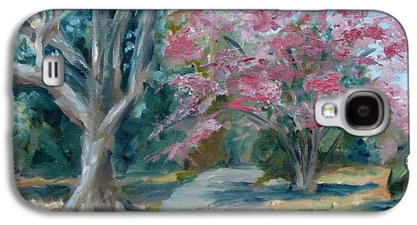 Carnton Plantation Galaxy S4 Cases - Trees of Windermere Galaxy S4 Case by Susan E Jones