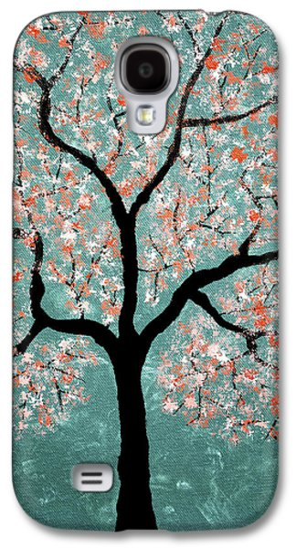 Tree Roots Pastels Galaxy S4 Cases - Treescape 1 Galaxy S4 Case by Sumit Mehndiratta